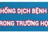 TĂNG CƯỜNG PHÒNG CHỐNG COVID-19 - TỔ CHỨC THI TN THPT NĂM 2020